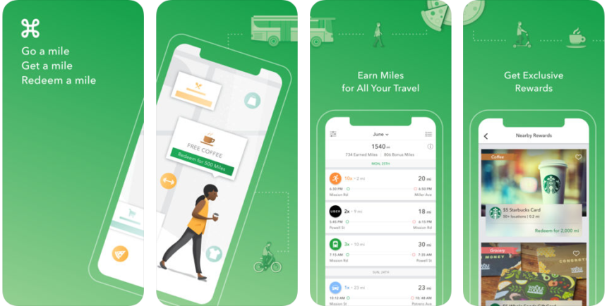 This App Will Give You Reward Miles for Your Morning Commute